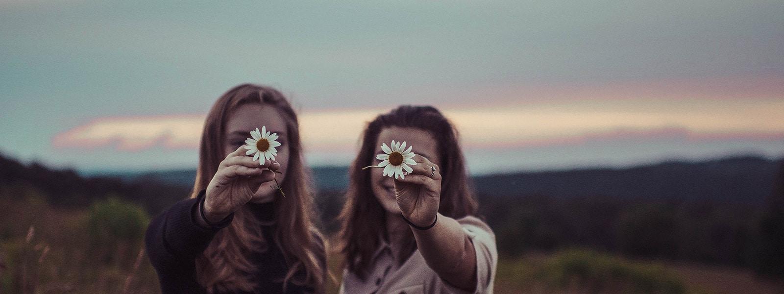 flower face girls